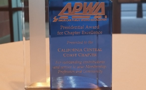 Congratulations to The Central Coast Chapter